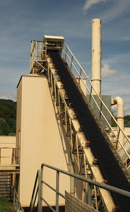 Steep Incline Conveyor Belt